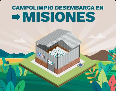 CampoLimpio desembarca en Misiones